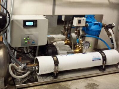 Zacht water MW Water Systems - reverse-osmose-installatie