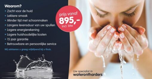 MW Water Systems Uw specialist in waterontharders flyer