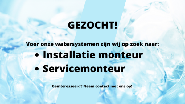 Vacature MW Water Systems