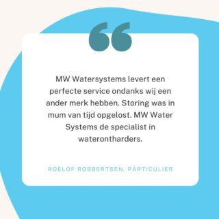 Klanten vertellen over MW Water Systems 💧   Voor meer recensies en informatie over MW Water Systems   Ga naar onze website: https://mwwatersystems.nl Link in onze bio!   Of bel ons: 0594-204080 Vraag vandaag nog een offerte aan!  #water #watersystems #schoonwater #waterzuivering #zuiverwater #mwwatersystems #watersystemen #geenkalk #kalkvrijwater #kalkvrij #gezondwater #stayhealthy #healthywater #ontkalken #minderkalk #waterzuiveringssysteem #cleanwater #waterzuiveren #waterzuiver #waterschap #waterzuiveringsproducten #waterzuiveringsproces #waterdrinken #drinkwater #schoondrinkwater #drinkwaterallday #drinkmorewater #zuiverdrinkwater #gezonddrinkwater #gezond