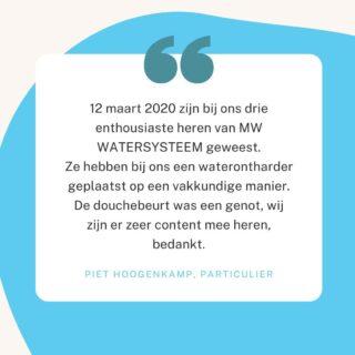 Klanten vertellen over MW Water Systems 💧   Voor meer recensies en informatie over MW Water Systems   Ga naar onze website: www.mwwatersystems.nl Link in onze bio!   Of bel ons: 0594-204080  #schoonwater #mwwatersystems #watersystems #waterontharder #zachtwater #water #waterzuivering #geenkalk #ontkalken #minderkalk #gezond #gezondblijven #drinkwater #waterdrinken #recensies #recensie #klanten #stayhydrated #drink #waterzuiveringssysteem