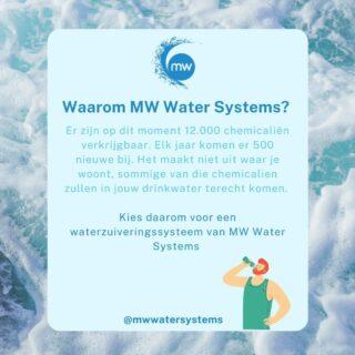 Waarom zou u kiezen voor een waterzuiveringsinstallatie van MW Water Systems?  Er zijn op dit moment 12.000 chemicaliën verkrijgbaar. Elk jaar komen er 500 nieuwe bij. Het maakt niet uit waar je woont, sommige van die chemicalien zullen in jouw drinkwater terecht komen.   Kies daarom voor een waterzuiveringssysteem van MW Water Systems   Kijk op onze website: Link in onze bio Of bel ons: 0594-204080  Vraag vandaag nog een offerte aan!  #water #watersystems #schoonwater #waterzuivering #zuiverwater #mwwatersystems #watersystemen #geenkalk #kalkvrijwater #kalkvrij #gezondwater #stayhealthy #healthywater #ontkalken #minderkalk #waterzuiveringssysteem #cleanwater #waterzuiveren #waterzuiver #waterschap #waterzuiveringsproducten #waterzuiveringsproces #waterdrinken #drinkwater #schoondrinkwater #drinkwaterallday #drinkmorewater #zuiverdrinkwater #gezonddrinkwater #gezond